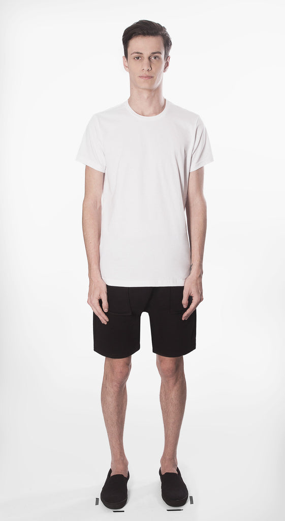t shirt basic white fit cotton organic ecological movin sustainable