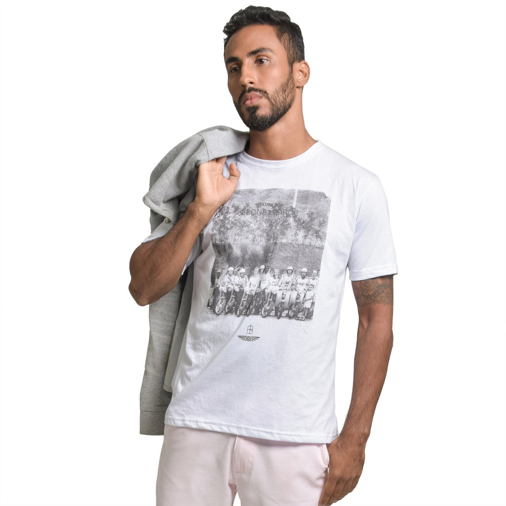 leonette club t shirt mescla white sustainable organic cotton