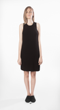 skept dress movin bamboo short black sustainable
