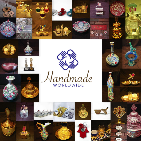 Handcrafted Artworks from Grandbazaar Istanbul via www.handmadeworldwide.net