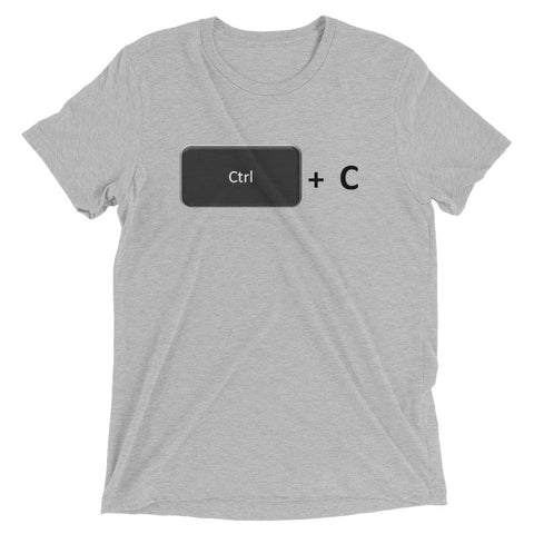 Ctrl + C (Copy) Daddy Short sleeve t-shirt