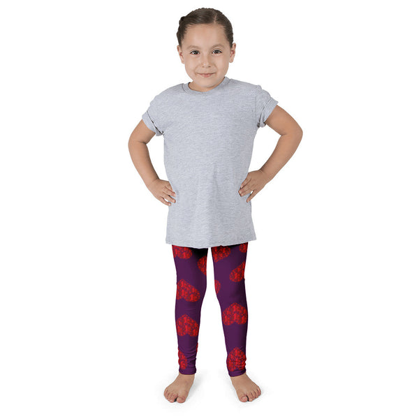You Have My Heart Purple Kid's leggings