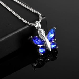 Butterfly with Crystal