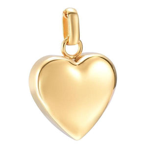 Golden Flat Heart