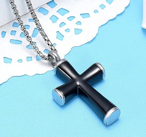 Cross with Silver Edges