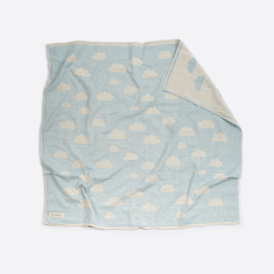 Blue Clouds Blanket