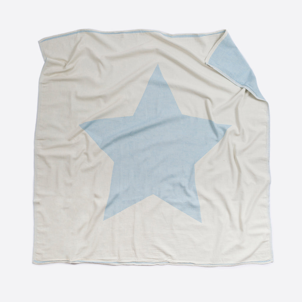 Blue North Star Blanket