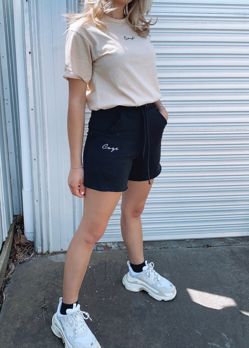 Signature Track Shorts - Black W