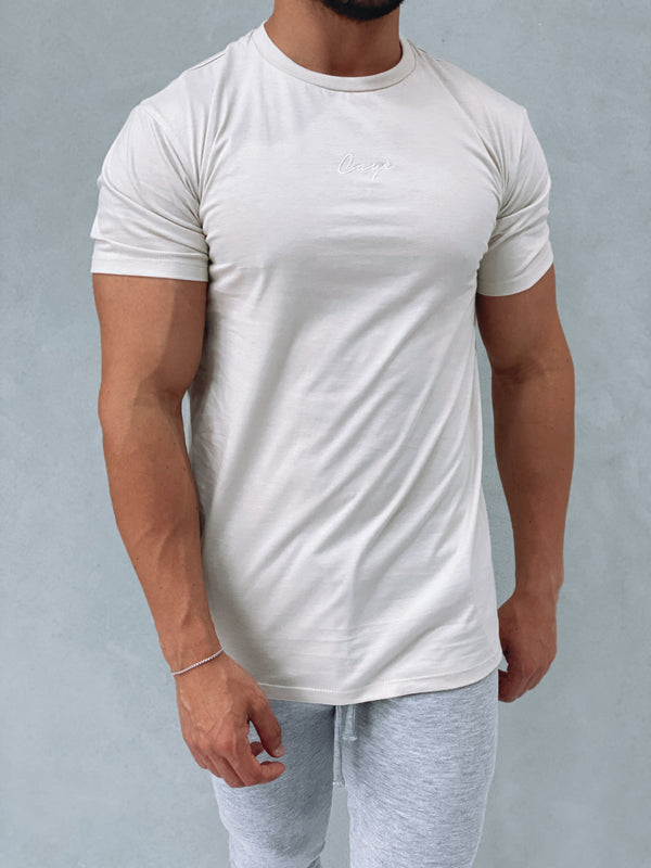 Signature T-Shirt - Bone