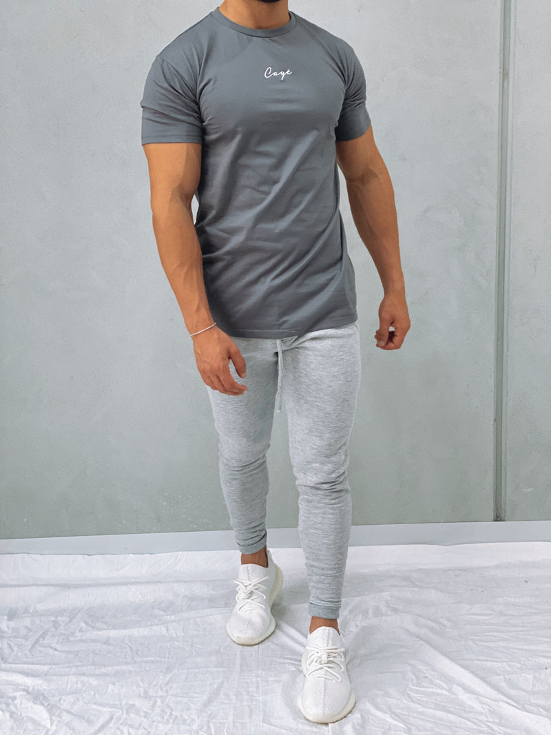 Signature T-Shirt - Med Grey