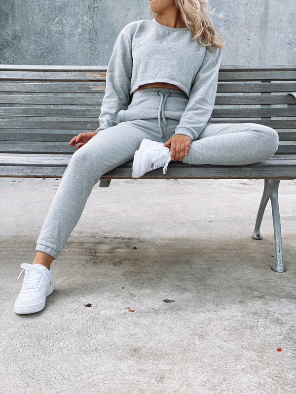 Signature Track Pants - Grey W