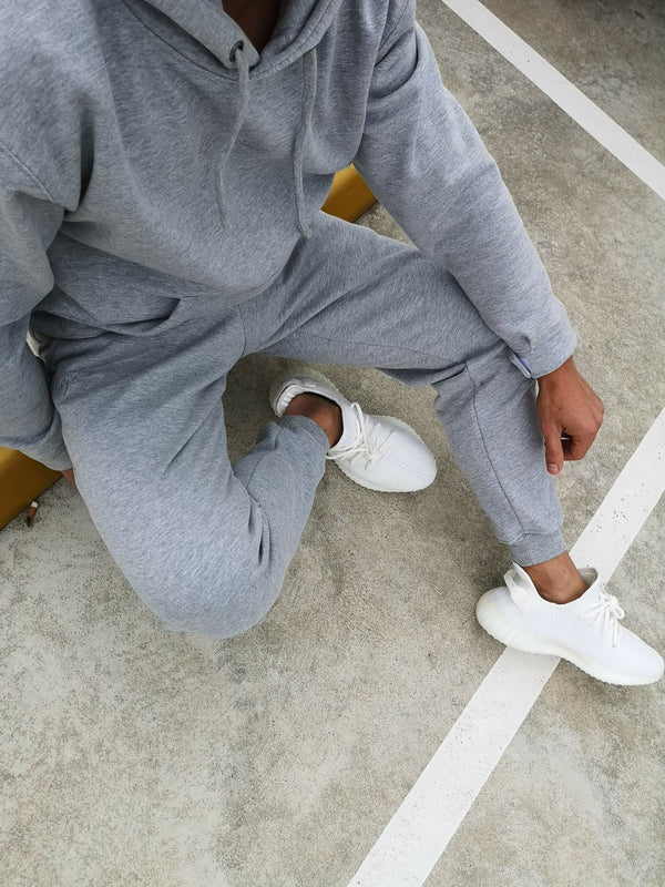 Signature Track Pants - Grey