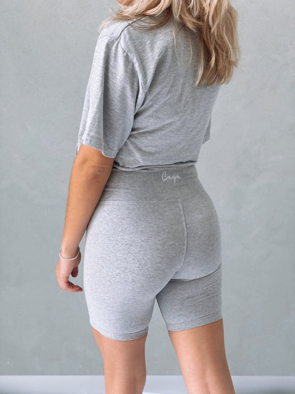 Signature Bike Shorts - Grey