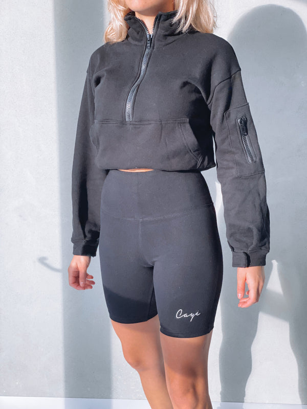 Signature Bike Shorts - Black
