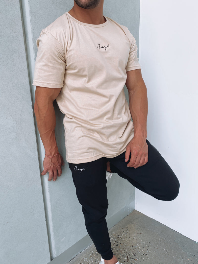 Signature T-Shirt - Beige