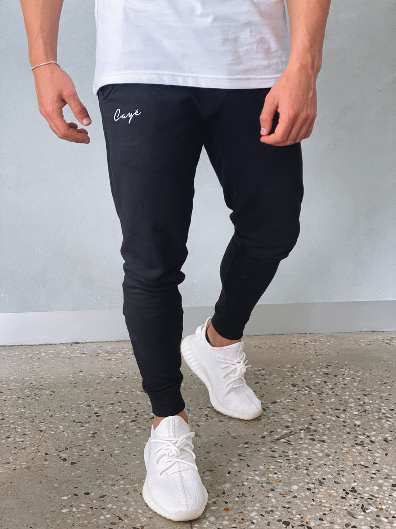 Signature Track Pants - Black