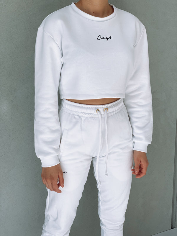 Signature Crop Crew - White