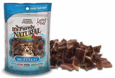 Loving Pets' It's Purely Natural® FREEZE DRIED BUFFALO Cat Treats