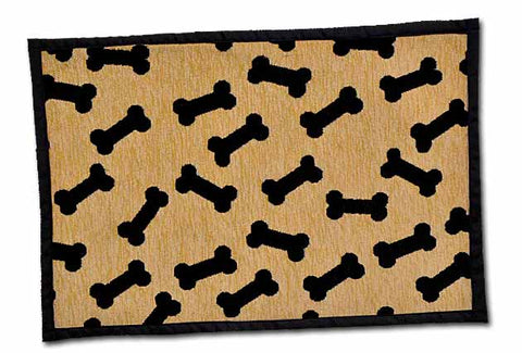 LOVING PETS PRODUCTS DANCING BONES CHENILLE BELLA FASHION MAT