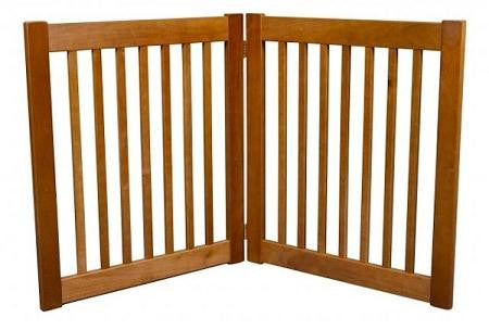 Two Panel EZ Pet Gate - Small-Artisan Bronze
