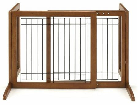 Small Bay Isle Freestanding Pet Gate - Tall