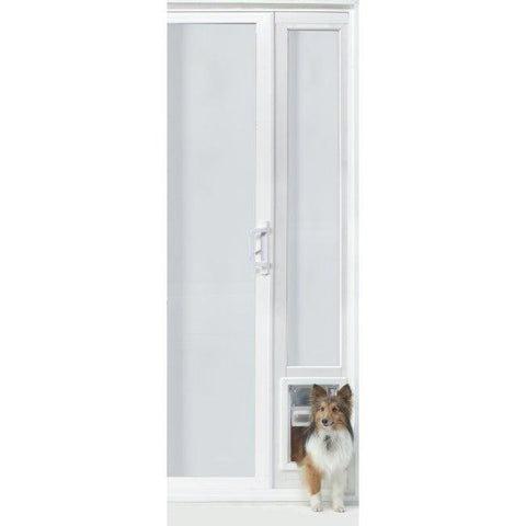 "VIP Vinyl Insulated Pet Patio Door - Medium-76 3-4"" to 78 1-2"""