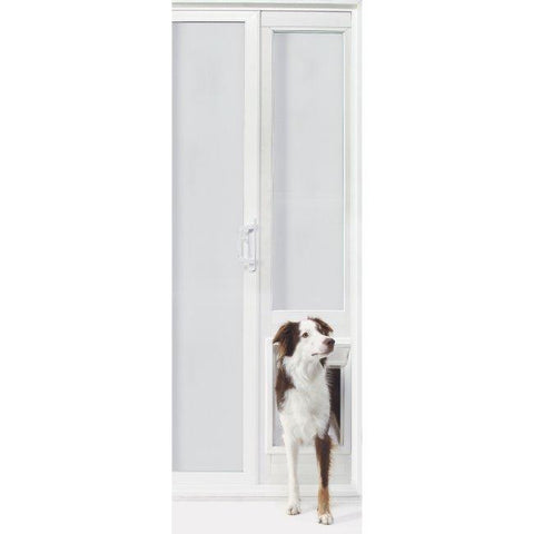 "VIP Vinyl Insulated Pet Patio Door - Extra Large-92 3-4"" to 94 1-2"""