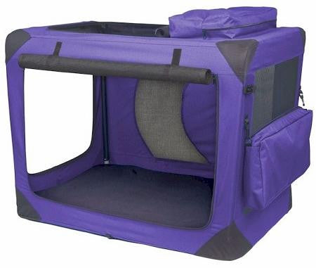 Generation II Deluxe Portable Soft Crate - Medium