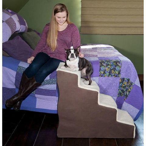 Easy Step IV Deluxe Soft Pet Stairs