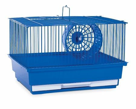 Single Story Hamster Cage -  Blue