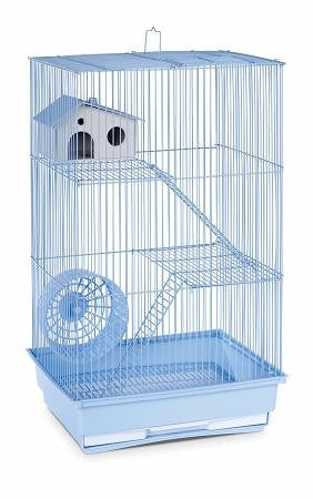Three Story Hamster & Gerbil Cage - Lite Blue