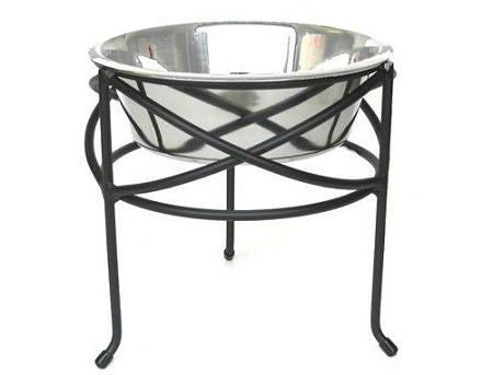 Mesh Elevated Dog Bowl - Medium