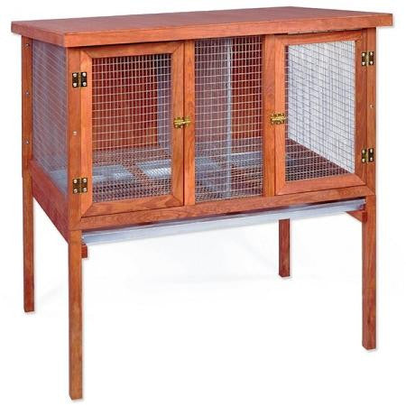 Heavy Duty Double Rabbit Hutch