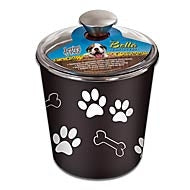LOVING PETS PRODUCTS BELLA BOWL CANISTER ESPRESSO