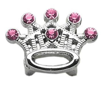 Slider Crystal Crown Charm