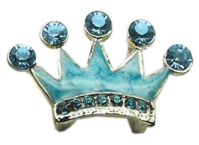 Slider Enamel Crown Charm