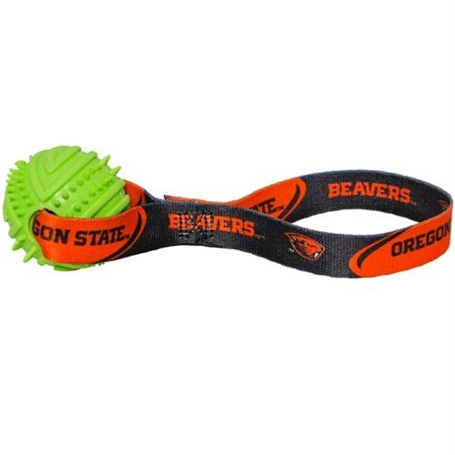Oregon State Rubber Ball Toss Toy