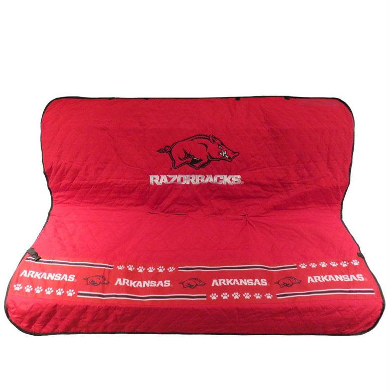 Arkansas Razorbacks Pet Car Seat Cover