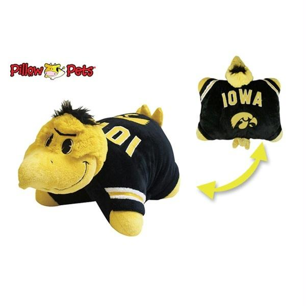 Iowa Hawkeyes Pillow Pet