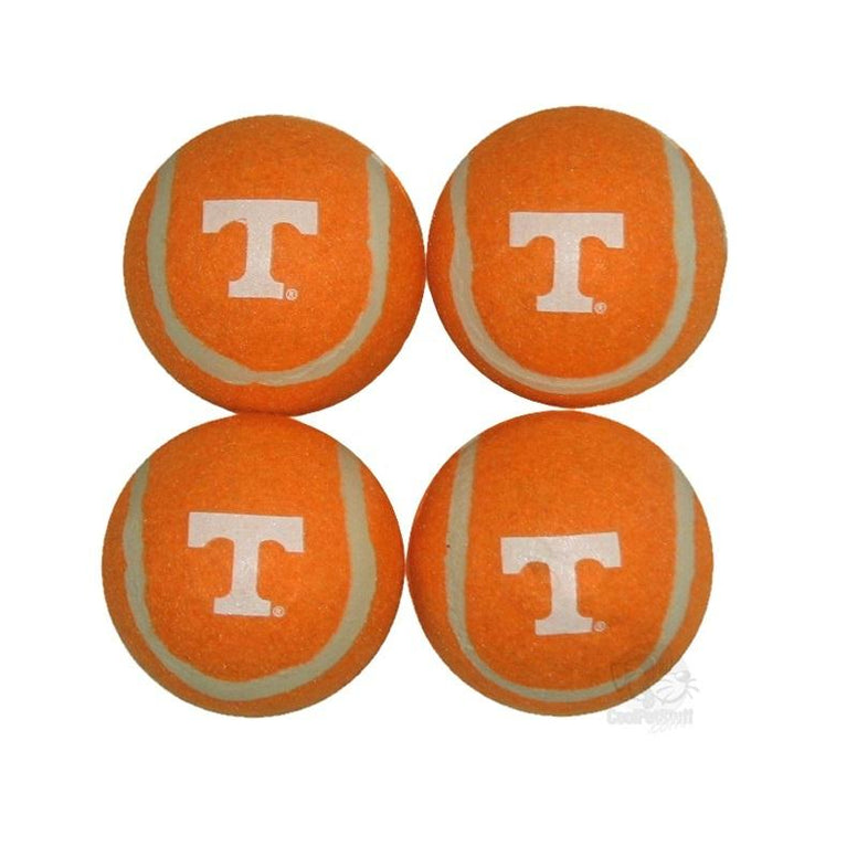 Tennessee Volunteers Tennis Ball 4-Pak