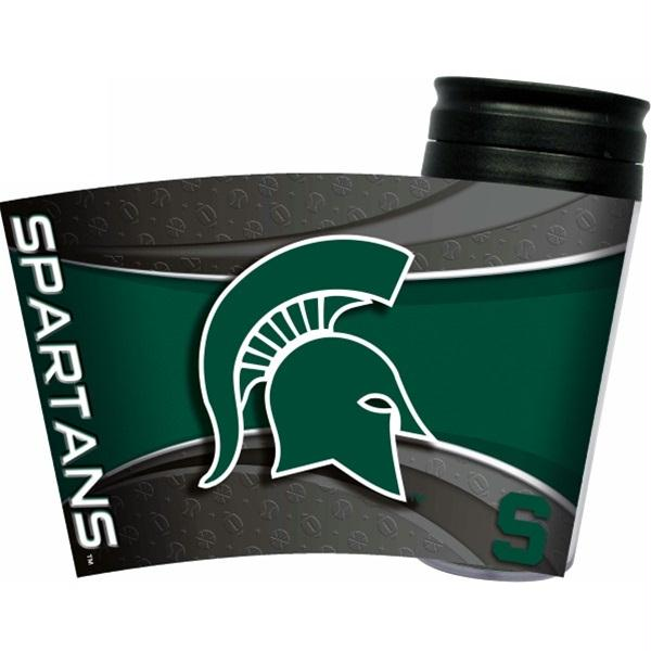 Michigan State Spartans Acrylic Tumbler w- Lid