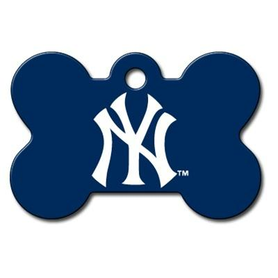 New York Yankees Bone ID Tag