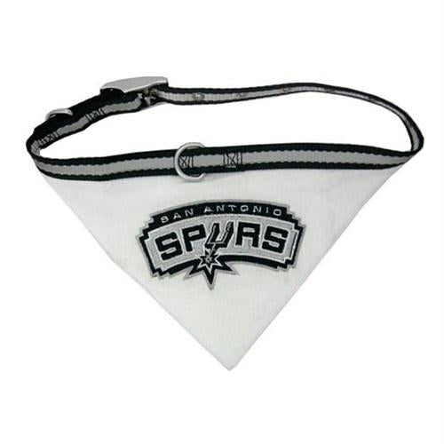 San Antonio Spurs Dog Collar Bandana