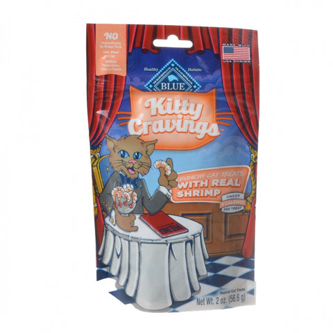 Blue Buffalo Kitty Cravings Crunchy Cat Treats - Real Shrimp - 2 oz