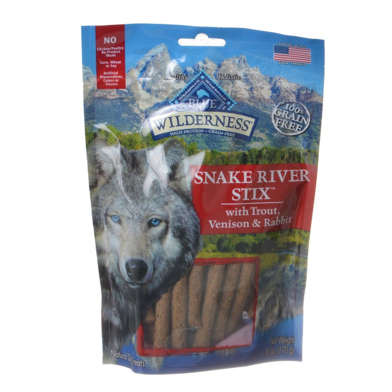 Blue Buffalo Wilderness Snake River Stix - Trout, Venison & Rabbit