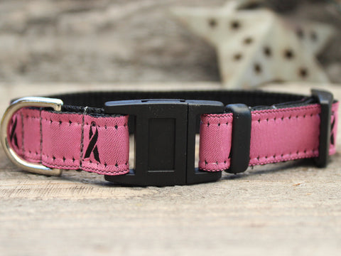 BREAST CANCER AWARENESS PINK CAT COLLAR
