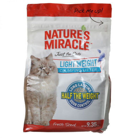 Nature's Miracle Just for Cats Light Weight Clumping Litter - Fresh Scent