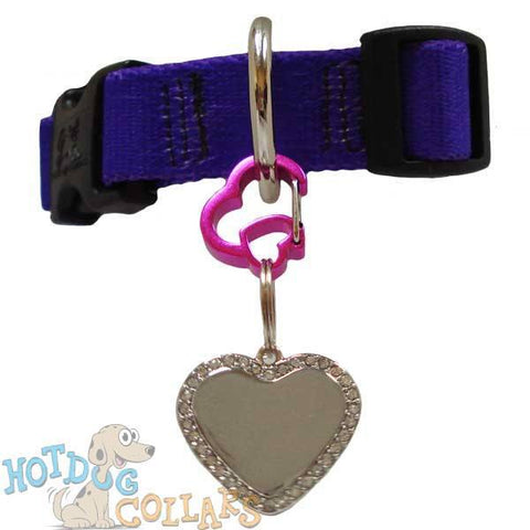 RUBIT HEART DOG TAG CLIP
