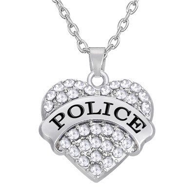 zemmys michael police necklace zwjqmvql officers dp shield patron of saint pendant