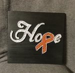 MS Hope Ribbon String Art